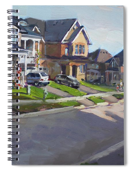 Viola's House In Georgetown On Spiral Notebook