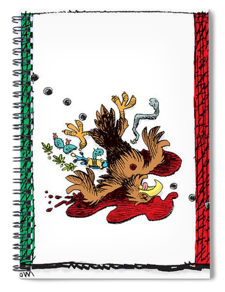 Violence In Mexico Spiral Notebook
