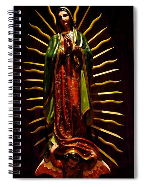 Virgin Of Guadalupe Spiral Notebook