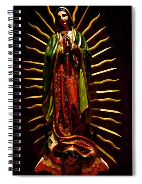 Virgin Of Guadalupe Spiral Notebook