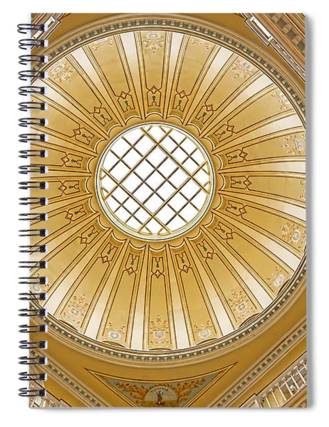 Virginia Capitol - Dome Spiral Notebook