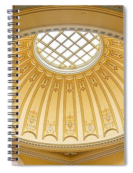 Virginia Capitol - Dome Profile Spiral Notebook
