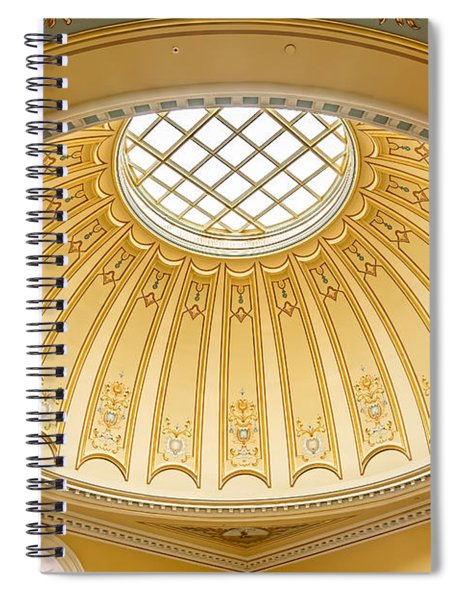 Virginia Capitol - Dome Profile Spiral Notebook