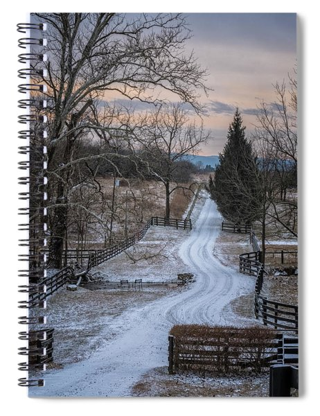 Virginia Country Lane II Spiral Notebook