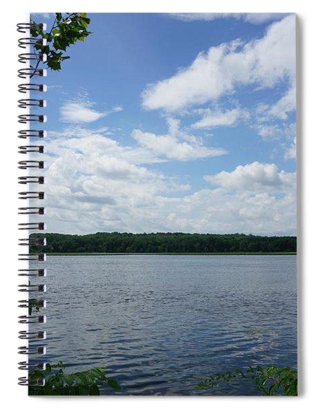 Virginia Lake Spiral Notebook