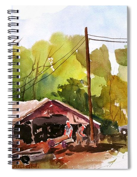 Virginia Saw Mill Spiral Notebook