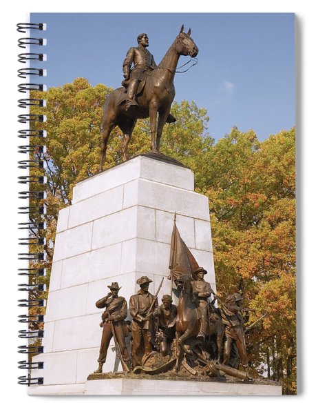 Virginia State Monument Spiral Notebook