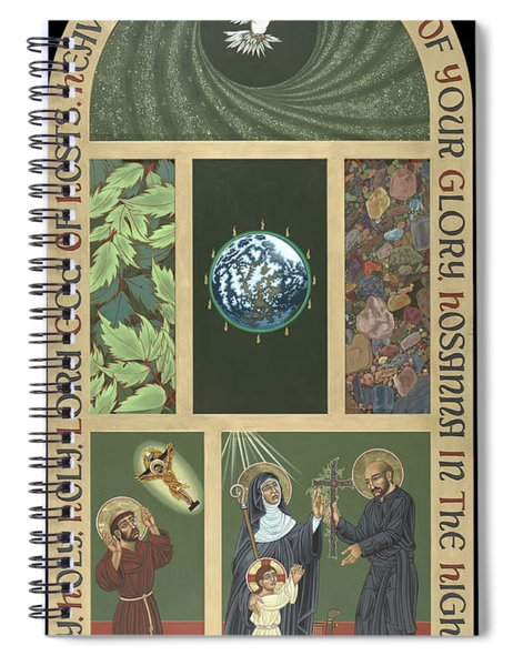 Viriditas - Finding God In All Things Spiral Notebook