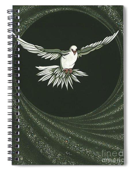 Viriditas-holy Spirit Detail Spiral Notebook