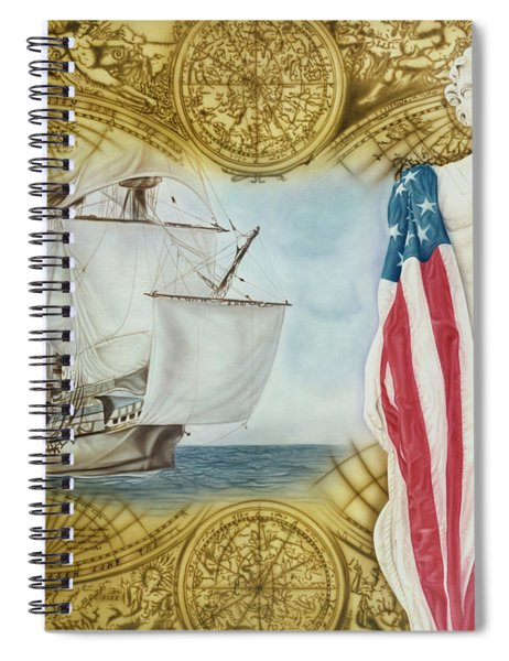 Visions Of Discovery Spiral Notebook