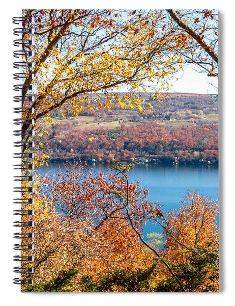 Vista From Garrett Chapel Spiral Notebook
