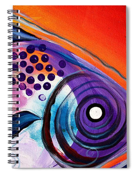 Vivid Fish Spiral Notebook