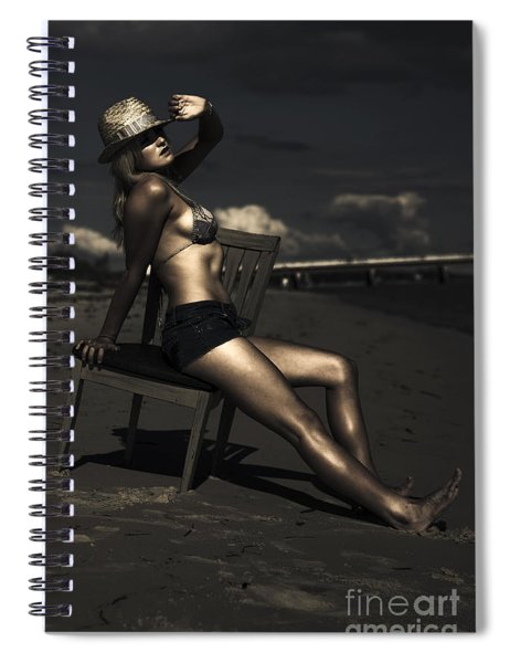 Vogue Life Style Holiday Spiral Notebook