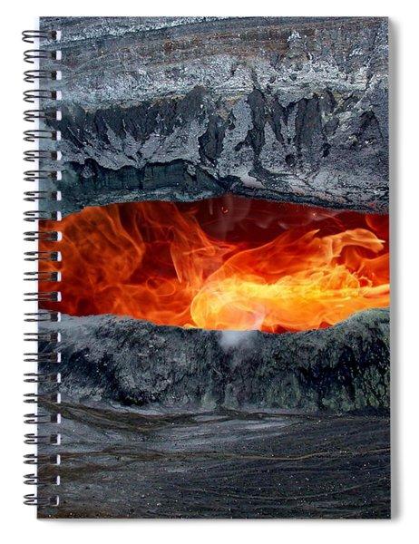 Volcanic Eruption Spiral Notebook