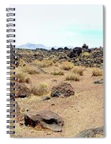 Volcanic Field Panorama Spiral Notebook