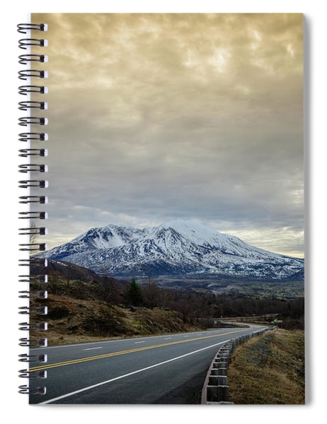 Volcanic Road Spiral Notebook