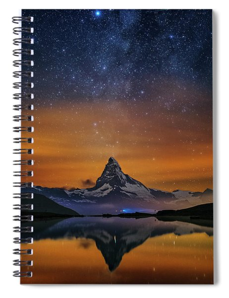 Volcano Fountain Spiral Notebook