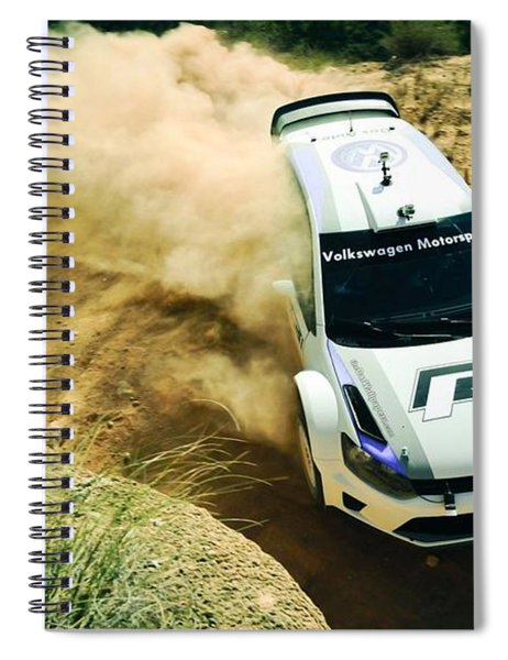 Volkswagen Polo Rally Spiral Notebook