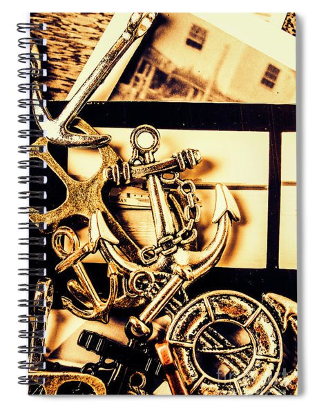 Voyage In Historical Boating Spiral Notebook