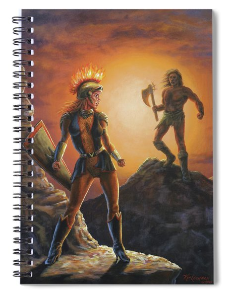 Vulcana  Spiral Notebook