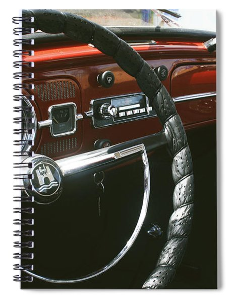 Vw Beetle Interior Spiral Notebook