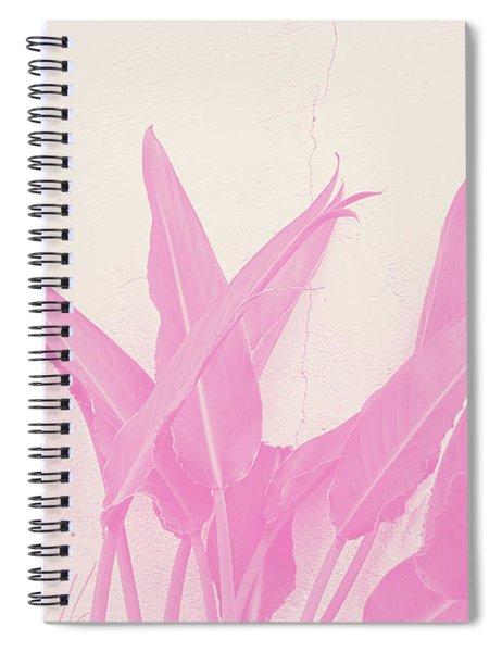 Wabi Sabi Garden 1- Art By Linda Woods Spiral Notebook