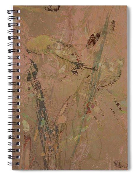 Wabi-sabi Ikebana Original Mashup Spiral Notebook