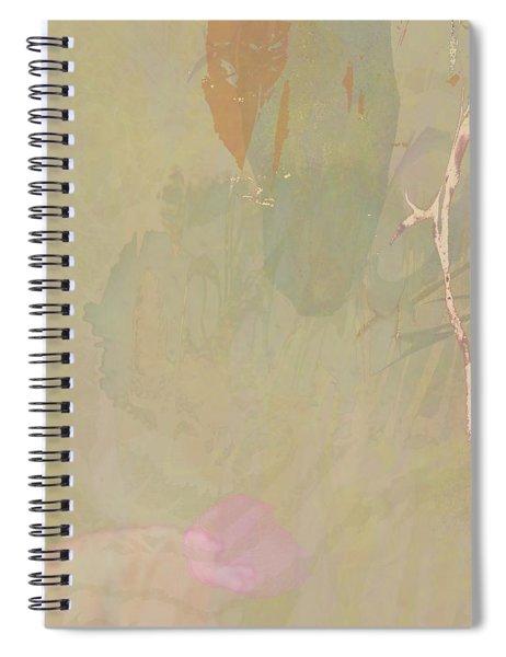 Wabi Sabi Ikebana Revisited Shabby 2 Spiral Notebook