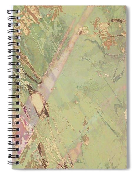 Wabi Sabi Ikebana Revisited Shabby 3 Spiral Notebook