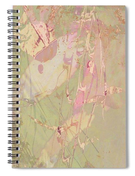 Wabi Sabi Ikebana Revisited Shabby 4 Spiral Notebook