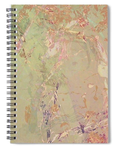 Wabi Sabi Ikebana Romantic Fall Spiral Notebook