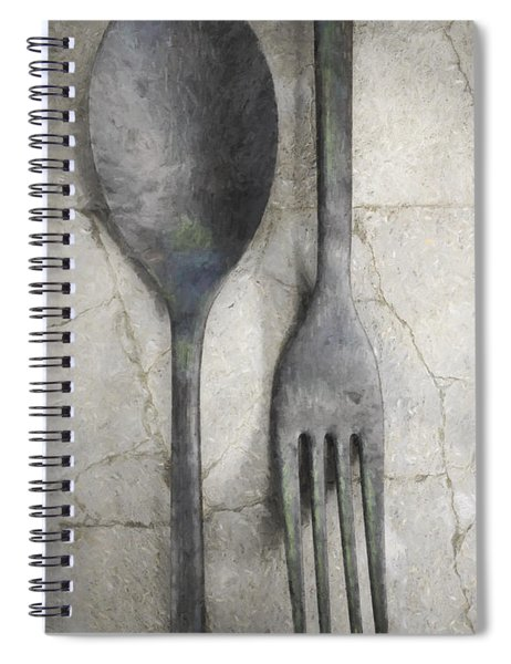 Wabi Sabi Utensils Spiral Notebook