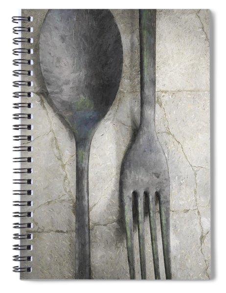 Wabi Sabi Utensils Spiral Notebook
