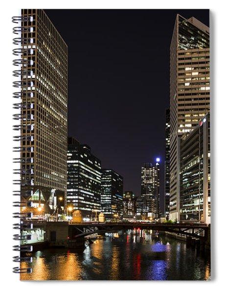 Wacker Avenue Spiral Notebook