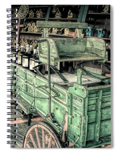 Wagon Spiral Notebook