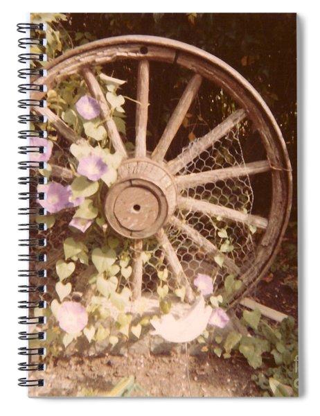 Wagon Wheel Memoir Spiral Notebook