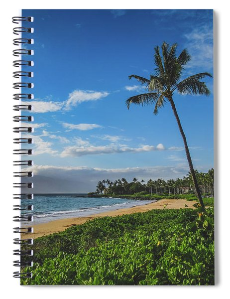 Wailea Beach Spiral Notebook