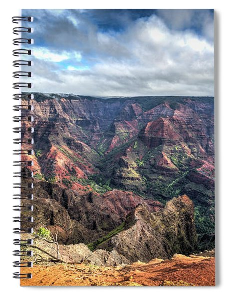 Waimea Canyon Kauai Hawaii Spiral Notebook