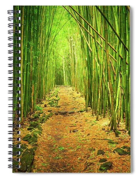Waimoku Bamboo Forest Spiral Notebook