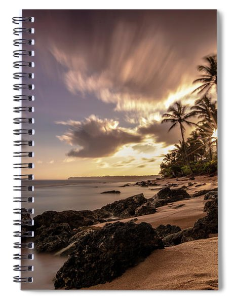 Wainiha Kauai Hawaii Sunrise  Spiral Notebook