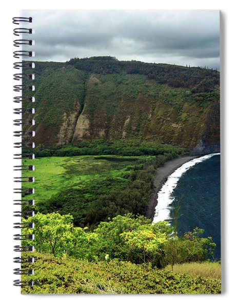 Waipio Valley Spiral Notebook