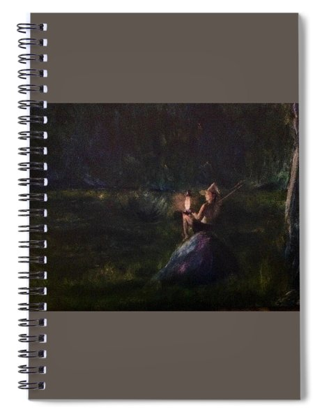 Waiting For Dawn Spiral Notebook