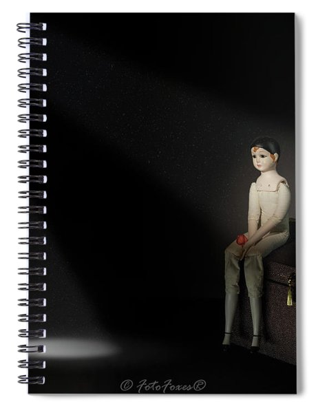 Waiting For Love Spiral Notebook