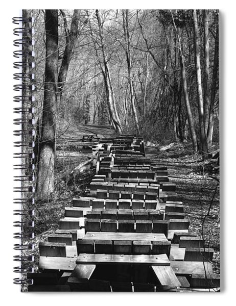Waiting For Orders Spiral Notebook