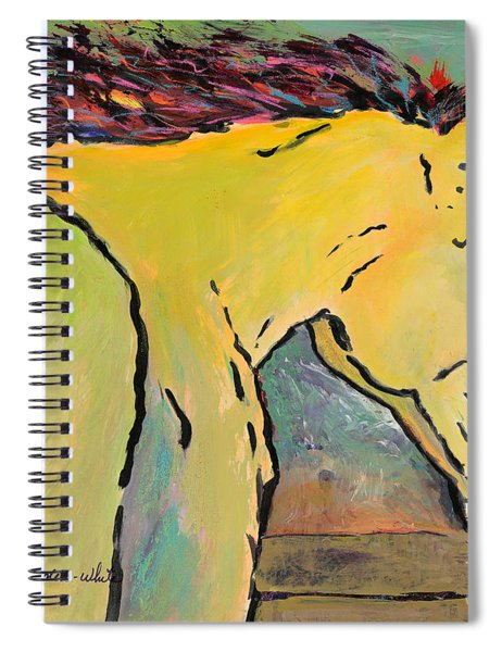 Waiting For Sunrise Spiral Notebook