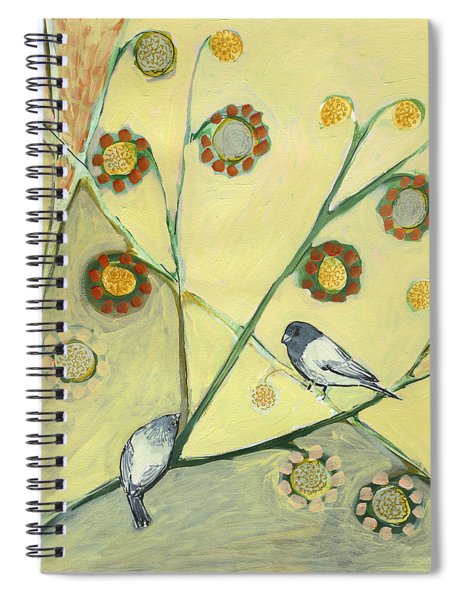 Waiting For The Dance Of Spring Spiral Notebook