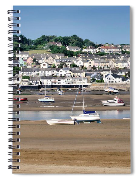 Waiting For The Tide Spiral Notebook