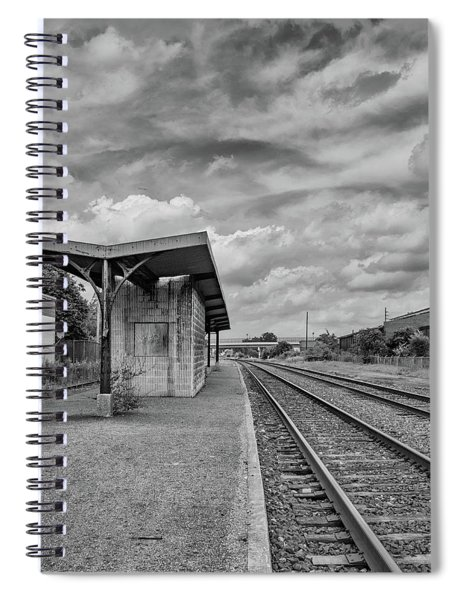 Waiting For The Train Spiral Notebook