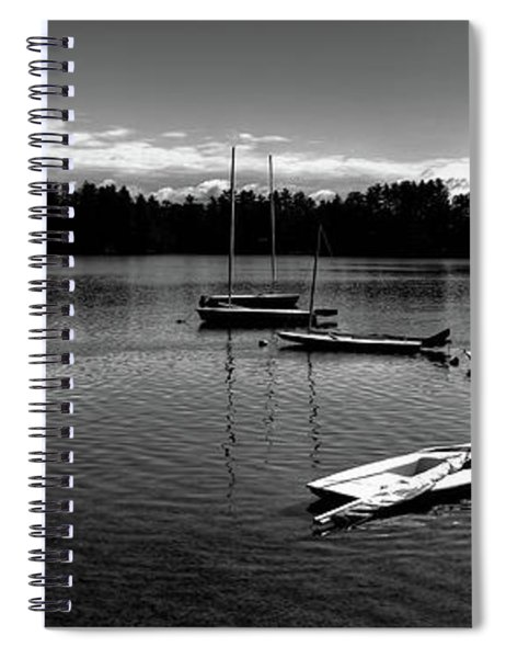 Waiting For Wind Spiral Notebook