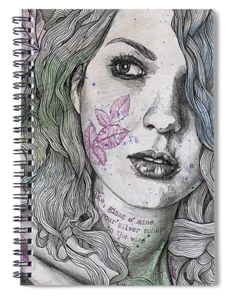 Wake Spiral Notebook